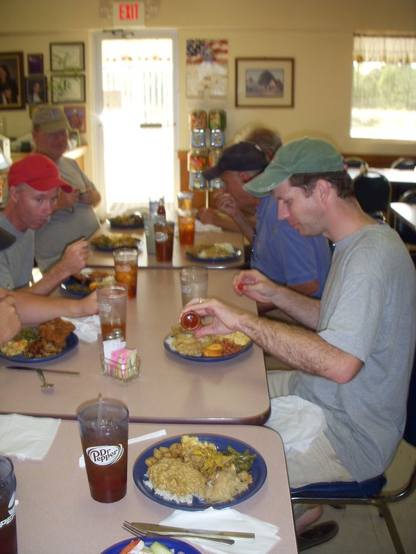 Dinner at Hawg Heaven