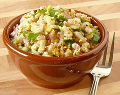 Barley & Tofu salad | by Cilantro2009