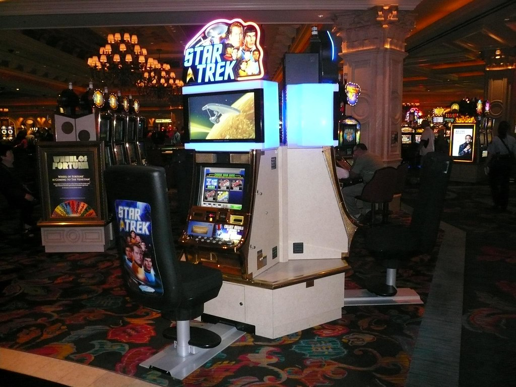 Star trek slot machine locations las vegas casino niagara poker tournaments 2013
