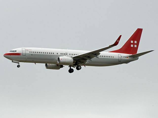 D-APBB Boeing 737-8Q8