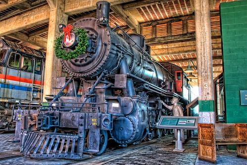 railroad museum train geotagged nc nikon northcarolina steam spencer hdr steamengine topaz 2100 alco decapod photomatix tonemapped d80 americanlocomotivecompany dougjohnson nctransportationmuseum topazadjust geo:lon=80435613 geo:lat=35686496 bigjohnsonphotoblogspotcom
