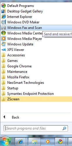 Windows7: Windows Fax and Scan | Windows Fax and Scan refere… | Flickr
