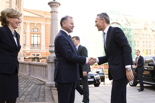 NATOs generalsekretær Jens Stoltenberg besøkte Stortinget 5. juni 2015