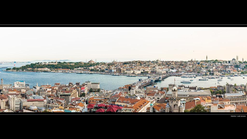 Istanbul Skyline Turkey 4k Wallpaper Desktop Backgroun