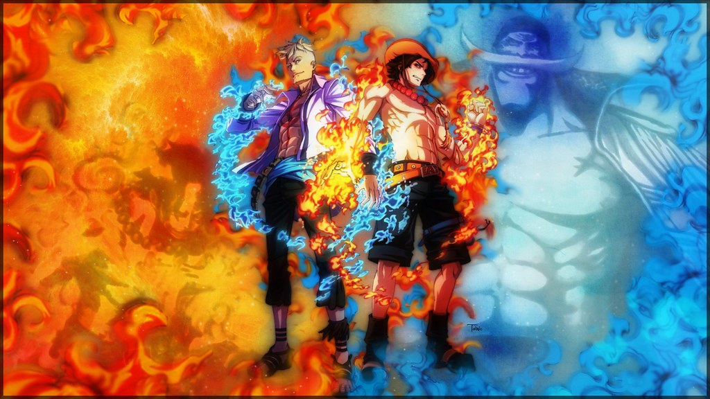 Phoenix Marco Fire Fist Ace One Piece Hd Wallpaper 1080p 1
