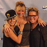 Behind the Scenes at Living Unfiltered with Wendi Cooper and guests Spiritual Alchemist%u2122 Misti Cooper and Photographer Rebecca Dru on UBN Radio at Sunset Gower Studios in Hollywood.