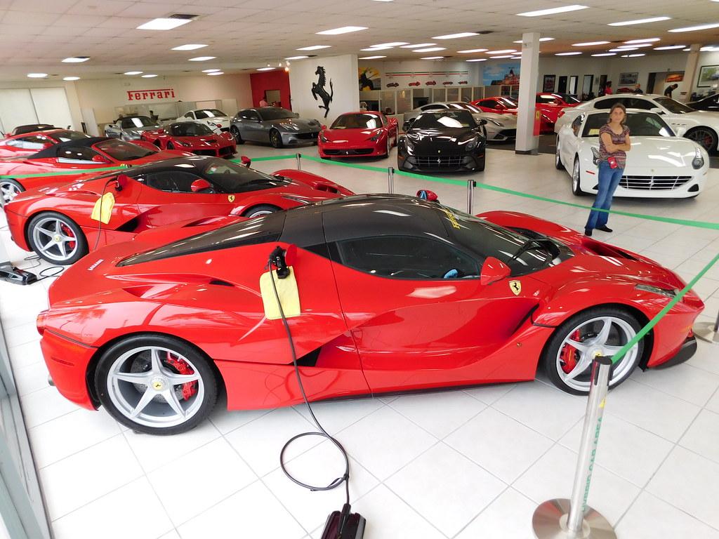 Ferrari Laferrari At Ferrari Maserati Of Central Florida Flickr