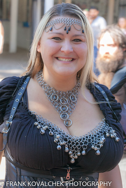 Tammy in chain maille