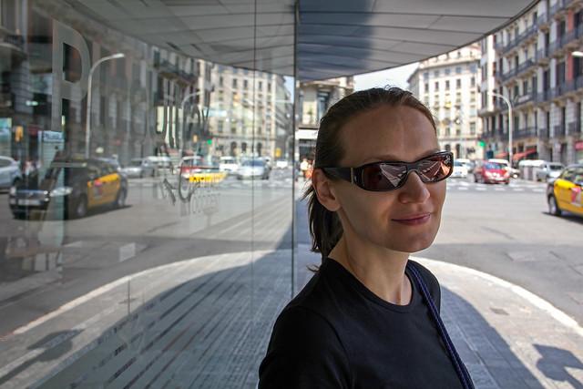 Barcelona - street refletions