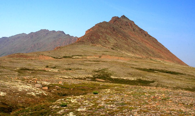 I think this is the backside of McHugh Peak from Rabbit Lake