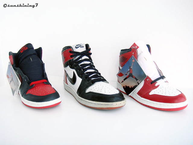 best loved c466f 20342 Sunshining7 - Nike Air Jordan I - 1985 - OG 3 colors 2 | Flickr
