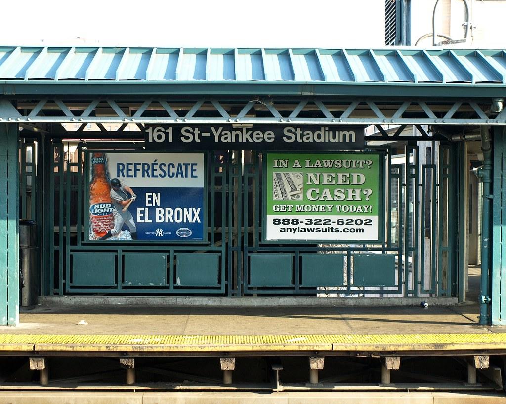 161st street - yankee stadium subway station, bronx, new y