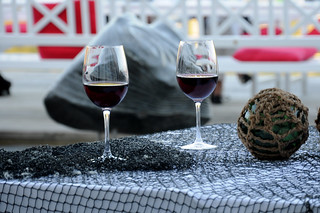 Two glasses of Red Wine | by L.C.Nøttaasen