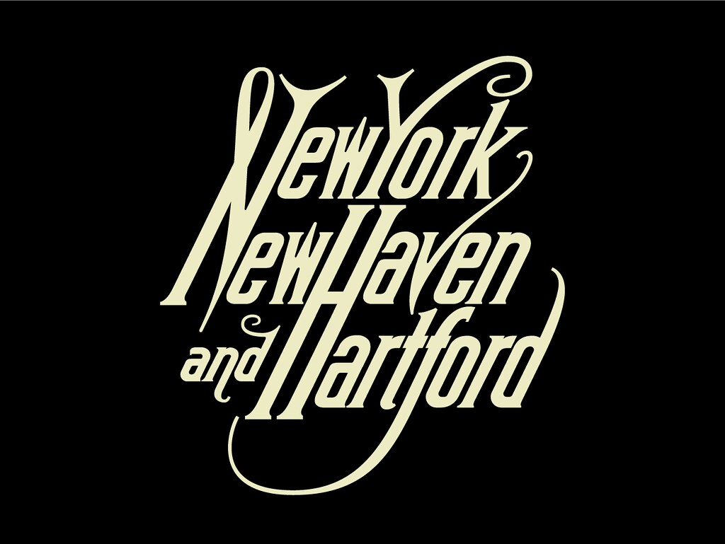 A New York New Haven And Hartford Railroad Co Logo Remast Flickr