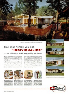 National Homes Ad - Life 1956