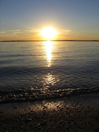 sunset summer lake beach water wisconsin video redtail iola petenwell