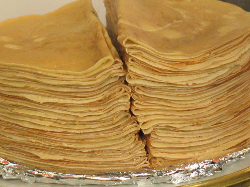 Crepe stacks