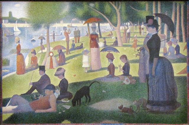 """A Sunday on La Grande Jatte—1884"" by Georges Seurat"