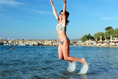 Wakling on the sea? - Jumping on the sea