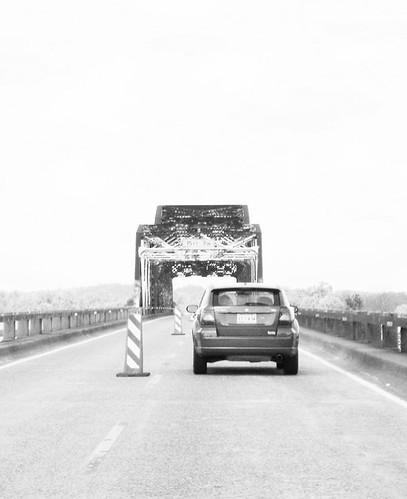 truss jasper texas neches river construction bridge black white blackandwhite blackwhite bw b w pontist united states north america