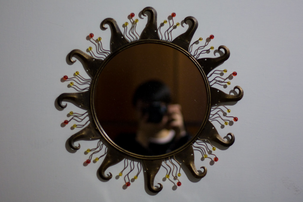 Day 18: The Blurry Thing In The Mirror