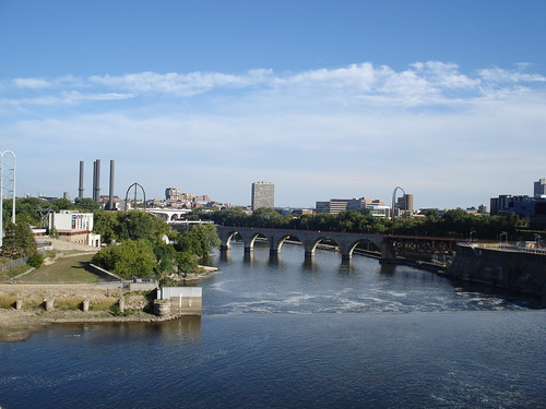 Minneapolis on the River