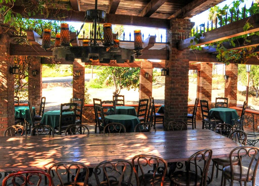 Terraza Casa Club Rancho Tecate View On Black Guillermo
