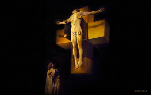 Salvador Dali's Crucifixion