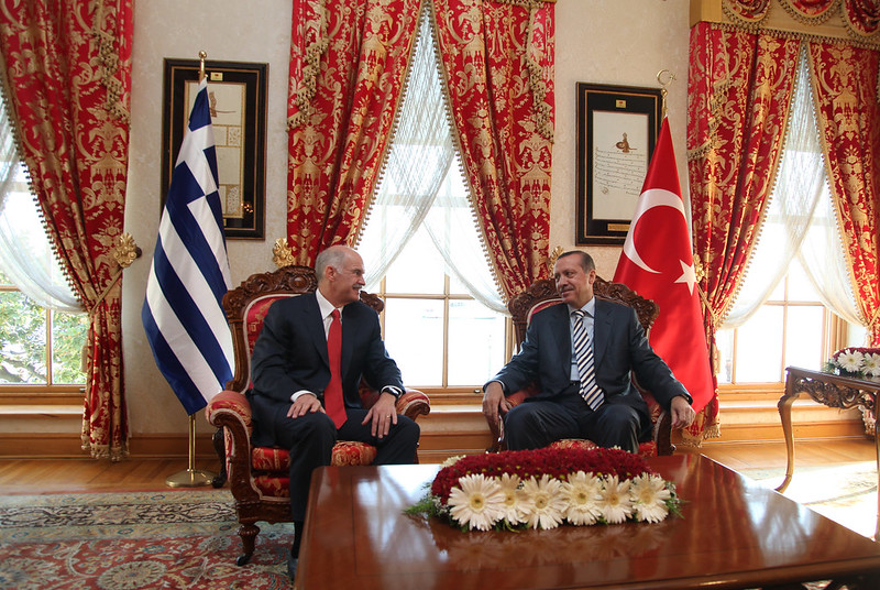 Συνάντηση με τον πρωθυπουργό της Τουρκίας Recep Tayyip Erdogan