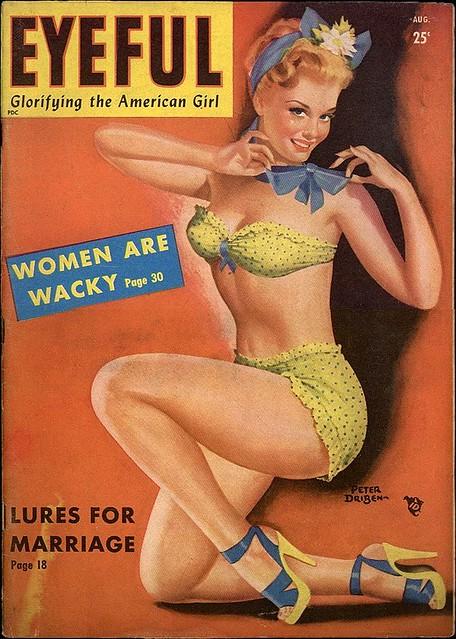 Eyeful - 1949 08 - Peter Driben Cover Art