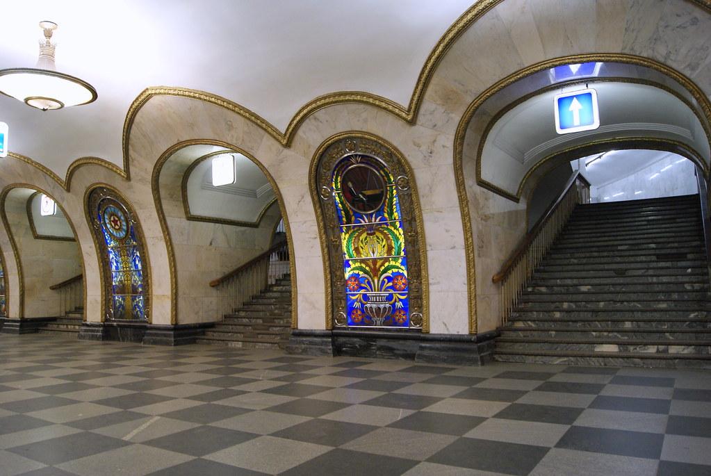 Novoslobodskaya station (Ring Line)