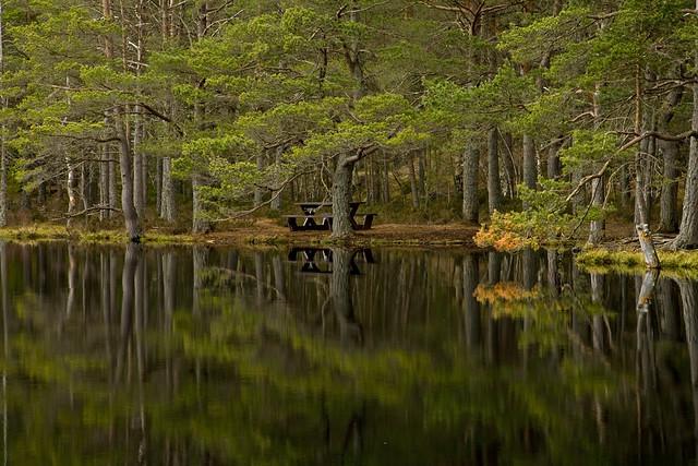 Uath Lochan, reflections