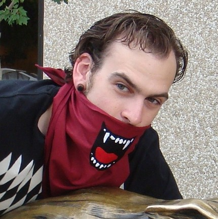 Insta-Face Dracula Bandana   Feeling a little blood thirsty?…   Flickr