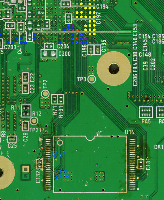 wii nand flash | infectus pinout | bushing | Flickr