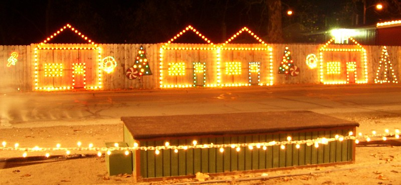 Polar Express North Pole - Houses