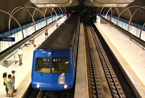 METRO Rio de janeiro - subway  #CLAUDIOperambulando