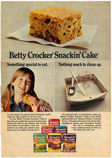 Ad - Betty Crocker Snackin' Cake HM0057
