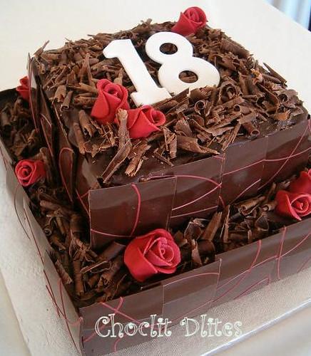 Robyns 18th Birthday Cake