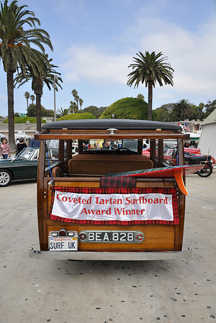 Tartan surfboard winner