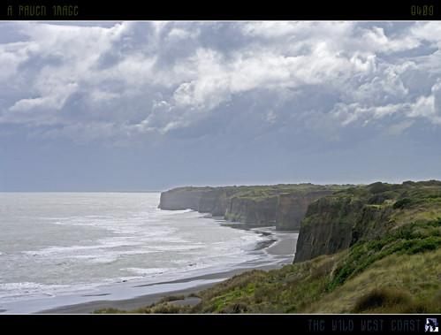 sea newzealand wild sky sun clouds geotagged surf cliffs foam westcoast taranaki oct23 patea abigfave flickrdiamond fbdg damniwishidetakenthat tomraven q409 travelsofhomerodyssey aravenimage geo:lat=39765137 geo:lon=174477653