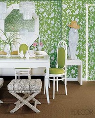 Interior Inspiration: Green wallpaper | by ishandchi