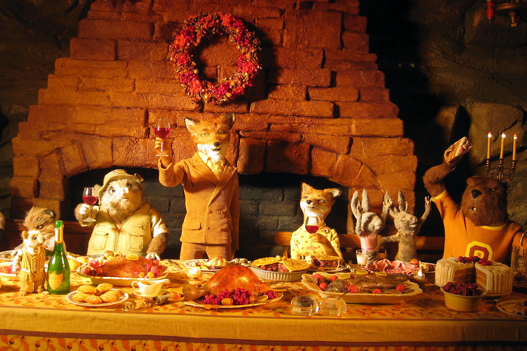 Nyc Bergdorf Goodman S 2009 Holiday Window Display Fantastic Mr Fox The Movie The Great Feast A Photo On Flickriver
