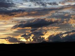 Sunset - Puesta del sol llegando a Ameca, Zacatecas, Mexico