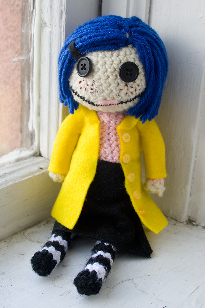 Coraline and Wybie - Amigurumi Doll Crochet Pattern PDF (With ... | 1024x683