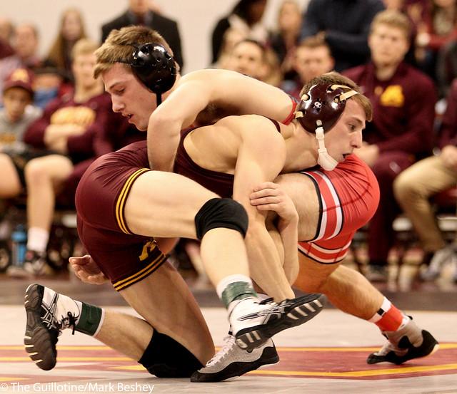 141 #12 Tommy Thorn (Minnesota) dec. #15 Luke Pletcher (Ohio State) 7-2