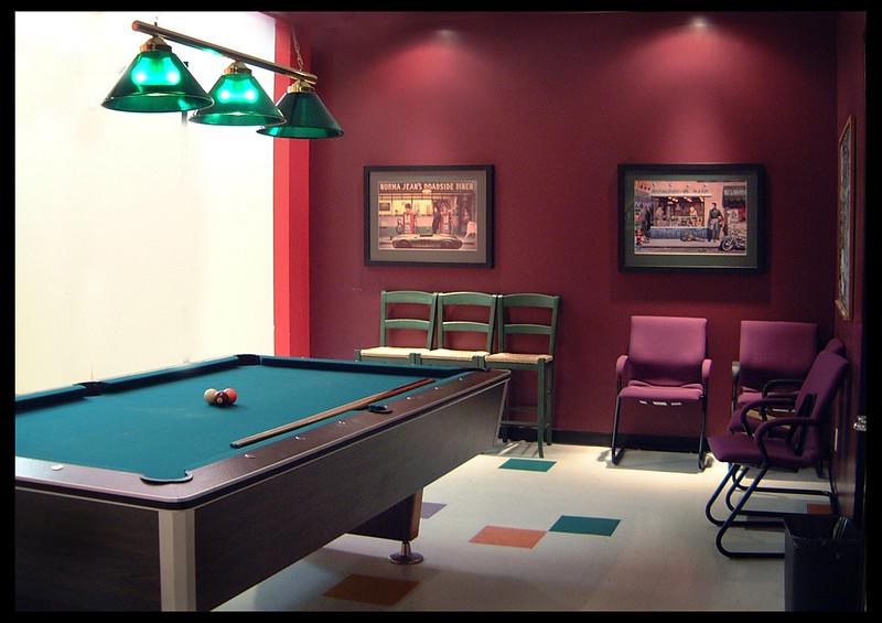 Cafe Marimba - the Pool Room