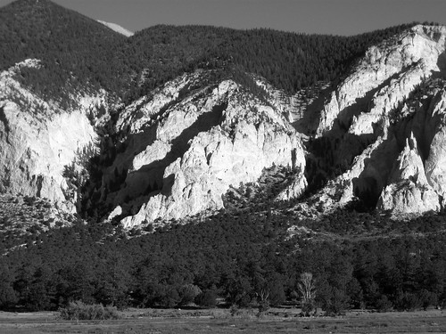 Chalk Cliffs BW | by Lyons, Tigers, and Bears...Oh My!