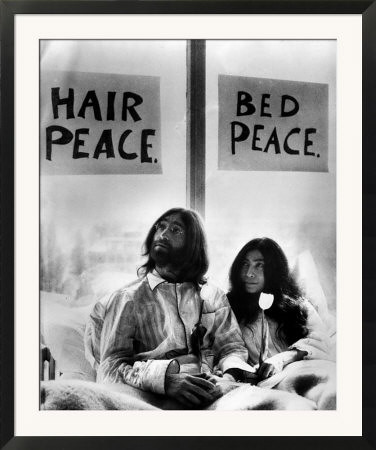 3036084 John Lennon In Bed With Yoko Ono At The Hilton Hot Flickr