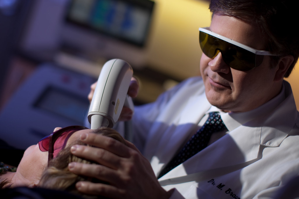 Dr Braun Performing Laser Hair Removal | Dr. Braun at the Va… | Flickr