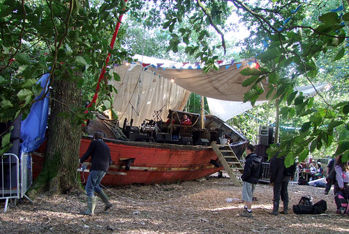 The Boat In The Woods That BP DJed From At 3am And The Packed Woods Went Mental | by bp fallon